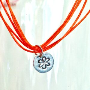 flower-charm-w-orange-color-strand