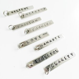 Word bar Charms